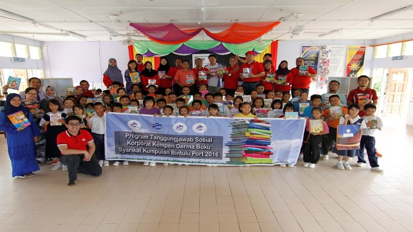 'Book Donation for School Libraries Campaign' to SK Bagiau