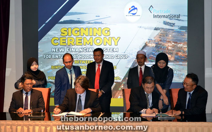 Ongoing project to enhance Bintulu Port's operations